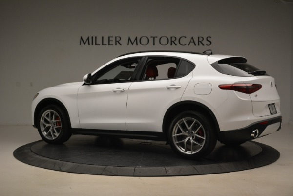 New 2018 Alfa Romeo Stelvio Ti Sport Q4 for sale Sold at McLaren Greenwich in Greenwich CT 06830 4