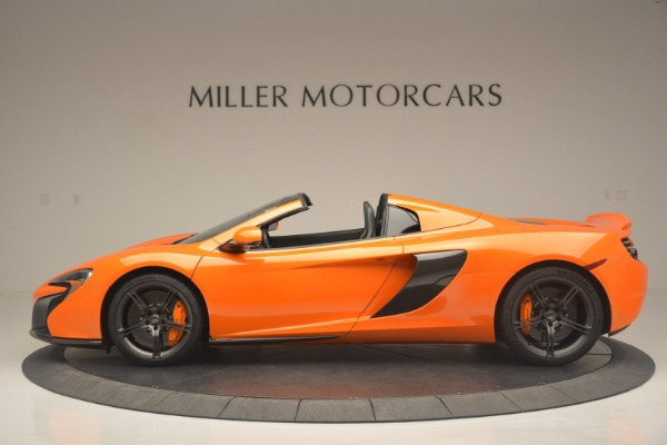 Used 2015 McLaren 650S Spider for sale Sold at McLaren Greenwich in Greenwich CT 06830 3