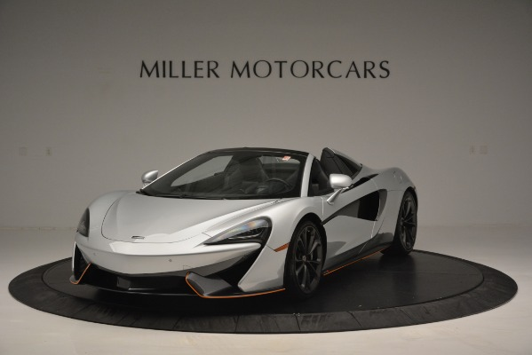 Used 2018 McLaren 570S Spider for sale Sold at McLaren Greenwich in Greenwich CT 06830 1