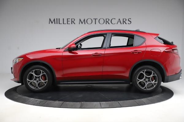 Used 2018 Alfa Romeo Stelvio Sport Q4 for sale Sold at McLaren Greenwich in Greenwich CT 06830 3