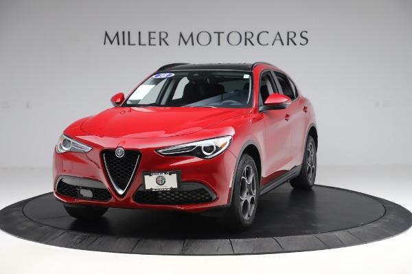 Used 2018 Alfa Romeo Stelvio Sport Q4 for sale Sold at McLaren Greenwich in Greenwich CT 06830 1