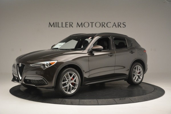 New 2018 Alfa Romeo Stelvio Ti Sport Q4 for sale Sold at McLaren Greenwich in Greenwich CT 06830 2