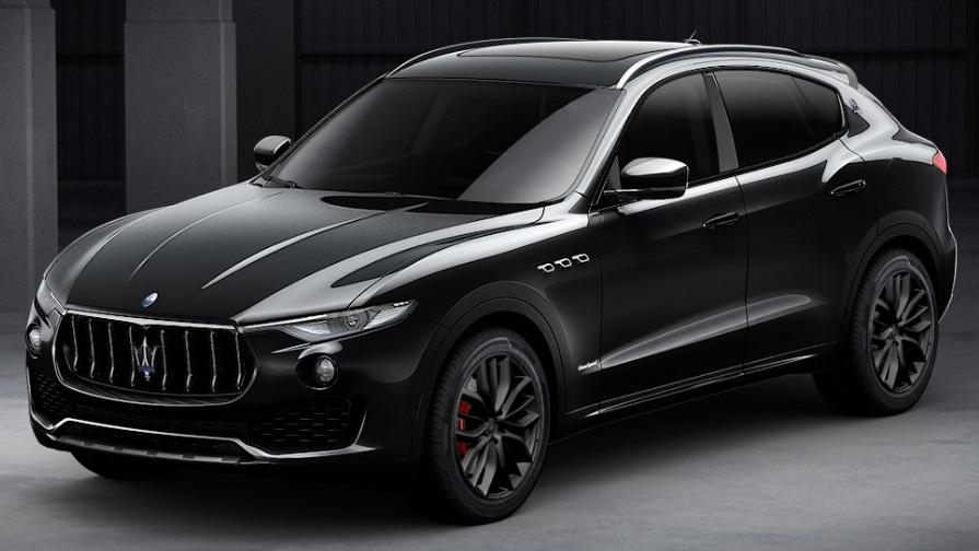 New 2018 Maserati Levante SQ4 GranSport Nerissimo for sale Sold at McLaren Greenwich in Greenwich CT 06830 1