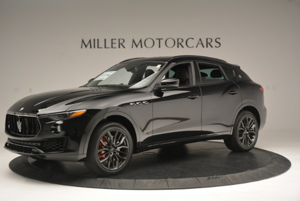 New 2018 Maserati Levante S Q4 GranSport Nerissimo for sale Sold at McLaren Greenwich in Greenwich CT 06830 2