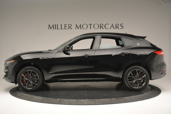 New 2018 Maserati Levante S Q4 GranSport Nerissimo for sale Sold at McLaren Greenwich in Greenwich CT 06830 3