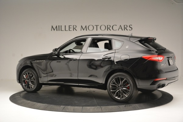 New 2018 Maserati Levante S Q4 GranSport Nerissimo for sale Sold at McLaren Greenwich in Greenwich CT 06830 4