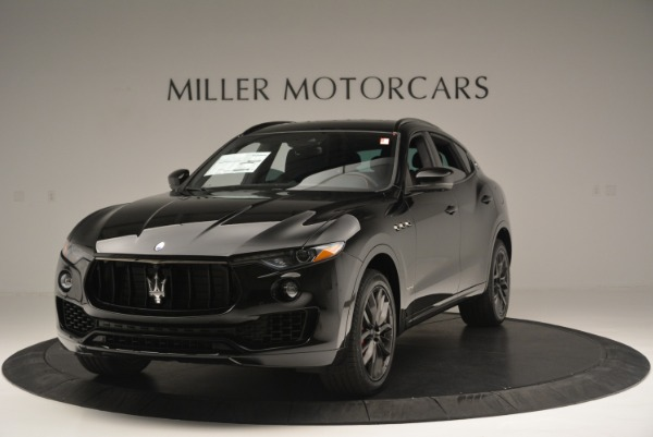 New 2018 Maserati Levante S Q4 GranSport Nerissimo for sale Sold at McLaren Greenwich in Greenwich CT 06830 1