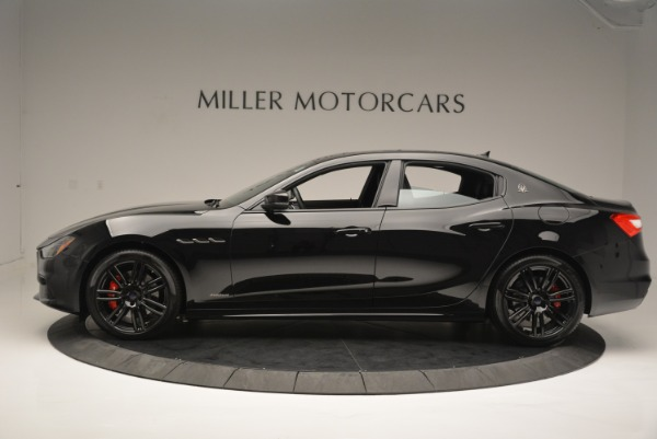 New 2018 Maserati Ghibli SQ4 GranSport Nerissimo for sale Sold at McLaren Greenwich in Greenwich CT 06830 3