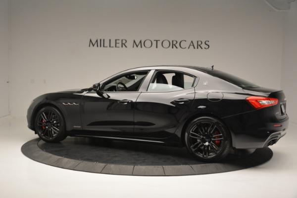 New 2018 Maserati Ghibli SQ4 GranSport Nerissimo for sale Sold at McLaren Greenwich in Greenwich CT 06830 4