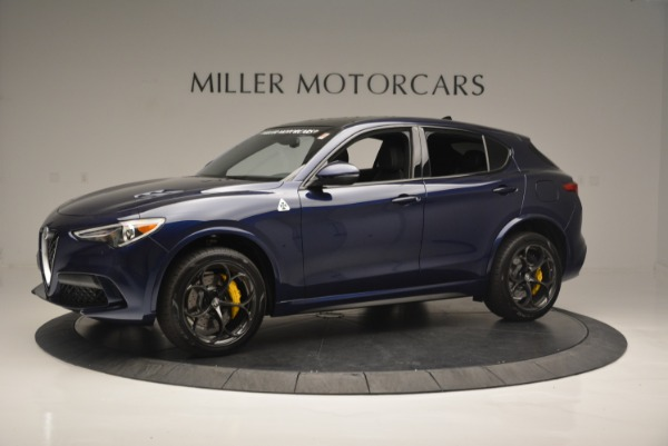 New 2018 Alfa Romeo Stelvio Quadrifoglio for sale Sold at McLaren Greenwich in Greenwich CT 06830 2