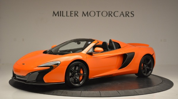Used 2015 McLaren 650S Spider Convertible for sale Sold at McLaren Greenwich in Greenwich CT 06830 2