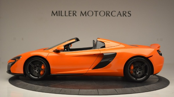 Used 2015 McLaren 650S Spider Convertible for sale Sold at McLaren Greenwich in Greenwich CT 06830 3