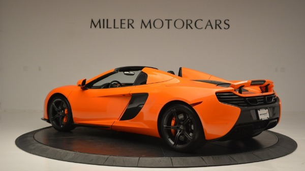 Used 2015 McLaren 650S Spider Convertible for sale Sold at McLaren Greenwich in Greenwich CT 06830 4