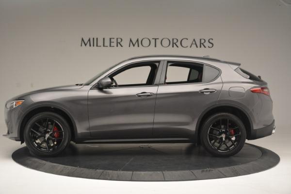 New 2018 Alfa Romeo Stelvio Ti Sport Q4 for sale Sold at McLaren Greenwich in Greenwich CT 06830 3