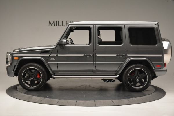 Used 2017 Mercedes-Benz G-Class AMG G 63 for sale Sold at McLaren Greenwich in Greenwich CT 06830 3