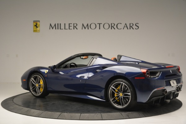 Used 2016 Ferrari 488 Spider for sale Sold at McLaren Greenwich in Greenwich CT 06830 4