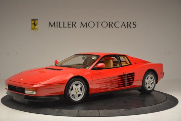 Used 1990 Ferrari Testarossa for sale Sold at McLaren Greenwich in Greenwich CT 06830 2