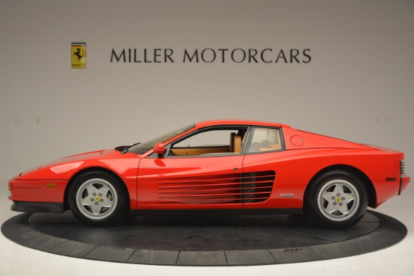 Used 1990 Ferrari Testarossa for sale Sold at McLaren Greenwich in Greenwich CT 06830 3