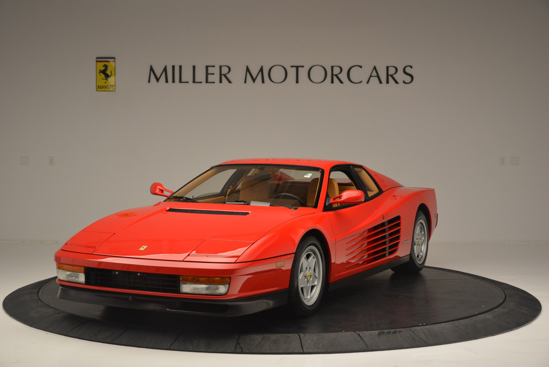 Used 1990 Ferrari Testarossa for sale Sold at McLaren Greenwich in Greenwich CT 06830 1