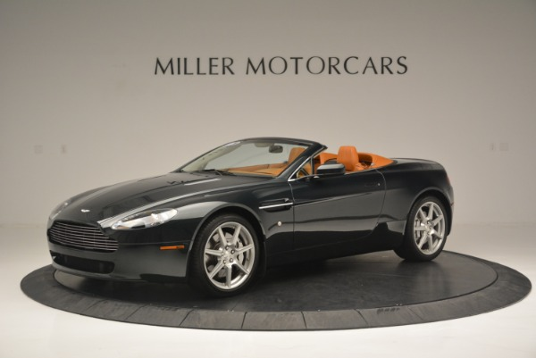 Used 2008 Aston Martin V8 Vantage Roadster for sale Sold at McLaren Greenwich in Greenwich CT 06830 2