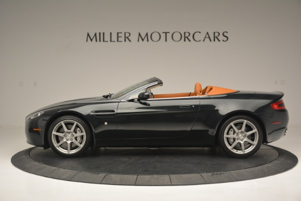 Used 2008 Aston Martin V8 Vantage Roadster for sale Sold at McLaren Greenwich in Greenwich CT 06830 3