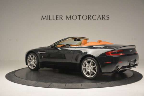 Used 2008 Aston Martin V8 Vantage Roadster for sale Sold at McLaren Greenwich in Greenwich CT 06830 4