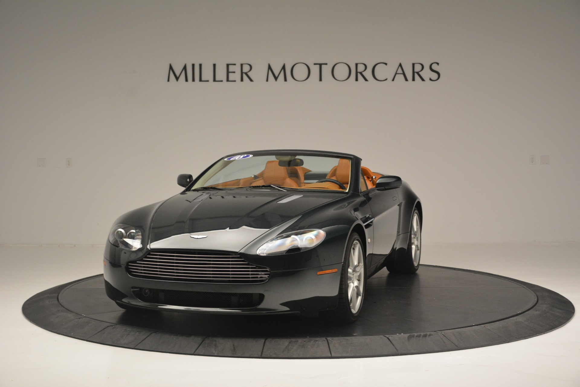 Used 2008 Aston Martin V8 Vantage Roadster for sale Sold at McLaren Greenwich in Greenwich CT 06830 1