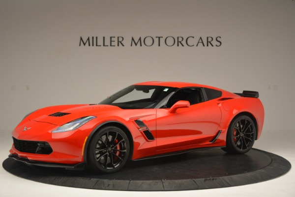 Used 2017 Chevrolet Corvette Grand Sport for sale Sold at McLaren Greenwich in Greenwich CT 06830 2