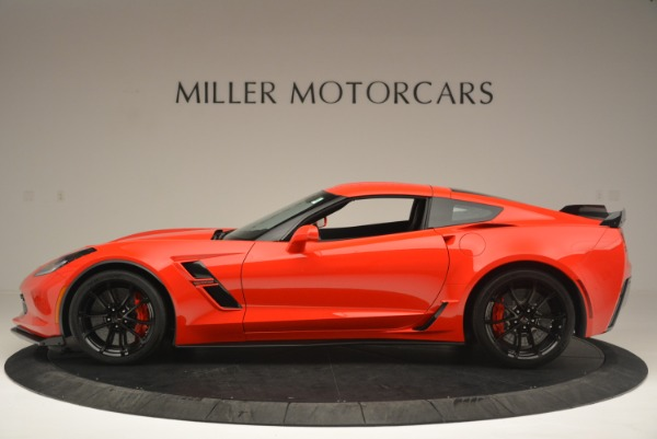 Used 2017 Chevrolet Corvette Grand Sport for sale Sold at McLaren Greenwich in Greenwich CT 06830 3
