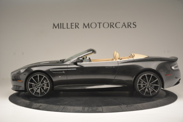 Used 2016 Aston Martin DB9 GT Volante for sale Sold at McLaren Greenwich in Greenwich CT 06830 3