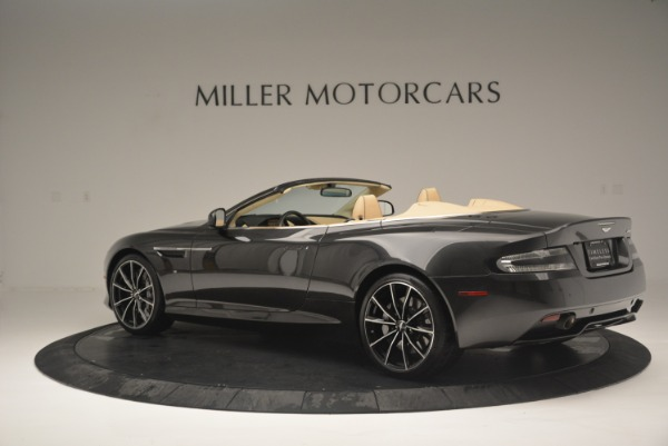 Used 2016 Aston Martin DB9 GT Volante for sale Sold at McLaren Greenwich in Greenwich CT 06830 4