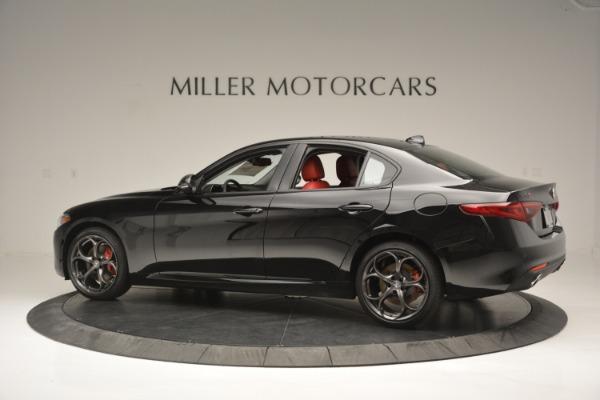 New 2018 Alfa Romeo Giulia Q4 for sale Sold at McLaren Greenwich in Greenwich CT 06830 4