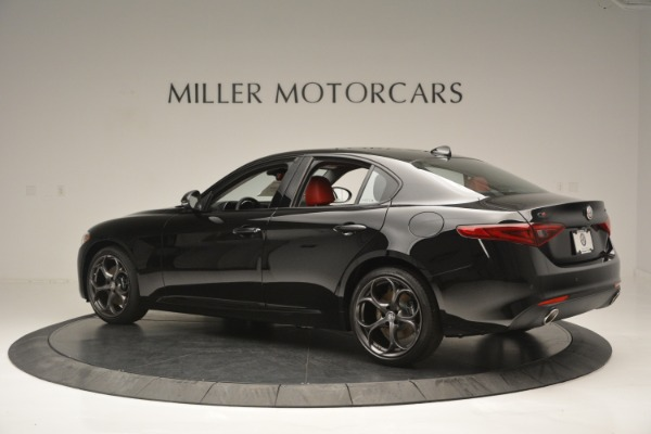 New 2018 Alfa Romeo Giulia Q4 for sale Sold at McLaren Greenwich in Greenwich CT 06830 4