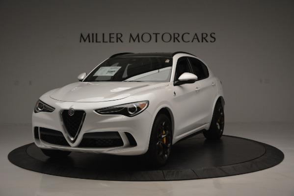 New 2018 Alfa Romeo Stelvio Quadrifoglio Quadrifoglio for sale Sold at McLaren Greenwich in Greenwich CT 06830 1