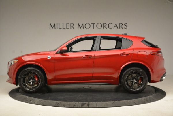 New 2018 Alfa Romeo Stelvio Quadrifoglio for sale Sold at McLaren Greenwich in Greenwich CT 06830 3
