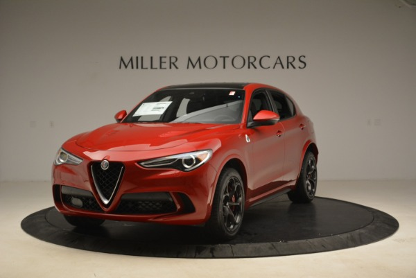 New 2018 Alfa Romeo Stelvio Quadrifoglio for sale Sold at McLaren Greenwich in Greenwich CT 06830 1