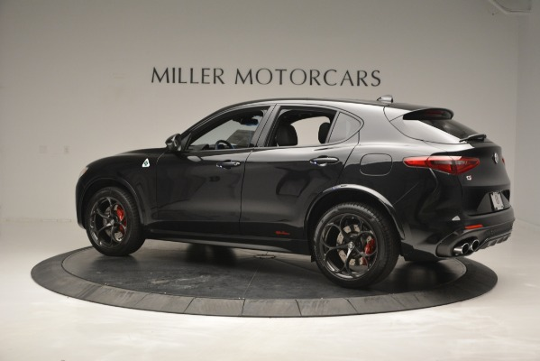 New 2018 Alfa Romeo Stelvio Quadrifoglio for sale Sold at McLaren Greenwich in Greenwich CT 06830 4