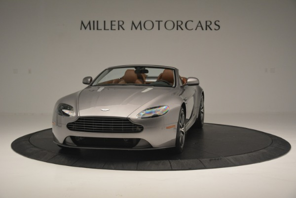 Used 2015 Aston Martin V8 Vantage Roadster for sale Sold at McLaren Greenwich in Greenwich CT 06830 2