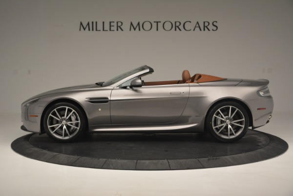 Used 2015 Aston Martin V8 Vantage Roadster for sale Sold at McLaren Greenwich in Greenwich CT 06830 3