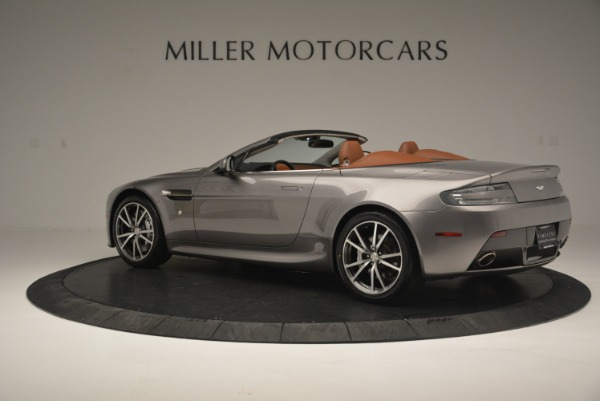 Used 2015 Aston Martin V8 Vantage Roadster for sale Sold at McLaren Greenwich in Greenwich CT 06830 4