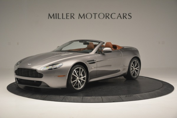 Used 2015 Aston Martin V8 Vantage Roadster for sale Sold at McLaren Greenwich in Greenwich CT 06830 1