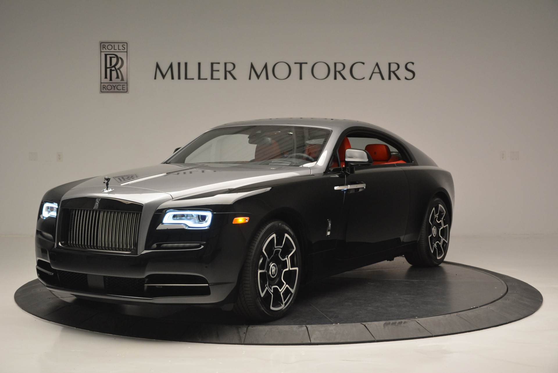 New 2018 Rolls-Royce Wraith Black Badge for sale Sold at McLaren Greenwich in Greenwich CT 06830 1