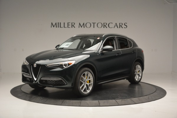 New 2018 Alfa Romeo Stelvio Ti Lusso Q4 for sale Sold at McLaren Greenwich in Greenwich CT 06830 2