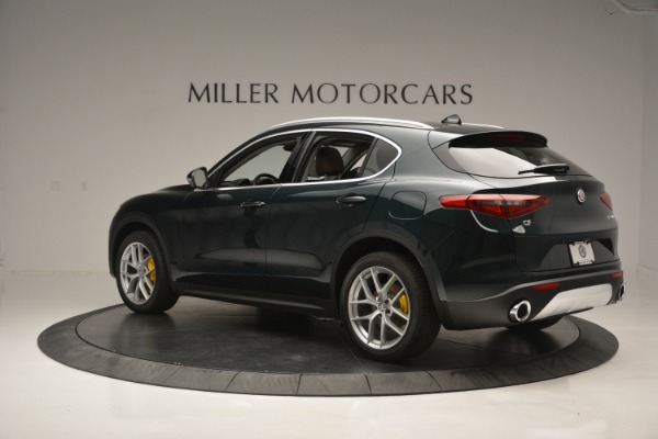 New 2018 Alfa Romeo Stelvio Ti Lusso Q4 for sale Sold at McLaren Greenwich in Greenwich CT 06830 4