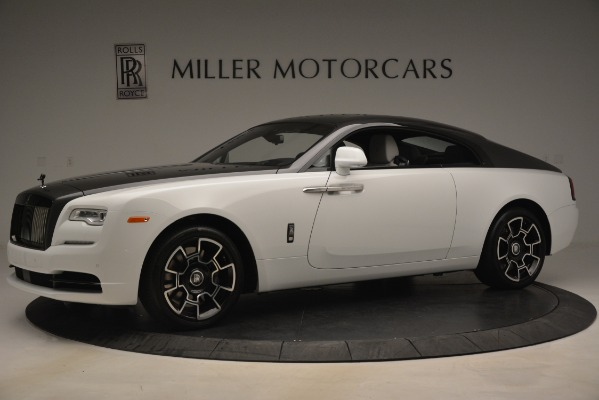 Used 2018 Rolls-Royce Wraith Black Badge Nebula Collection for sale Sold at McLaren Greenwich in Greenwich CT 06830 2
