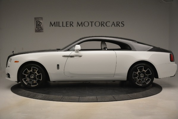 Used 2018 Rolls-Royce Wraith Black Badge Nebula Collection for sale Sold at McLaren Greenwich in Greenwich CT 06830 3