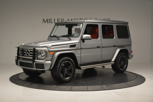 Used 2016 Mercedes-Benz G-Class G 550 for sale Sold at McLaren Greenwich in Greenwich CT 06830 2