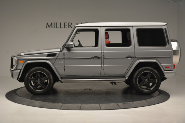 Used 2016 Mercedes-Benz G-Class G 550 for sale Sold at McLaren Greenwich in Greenwich CT 06830 3