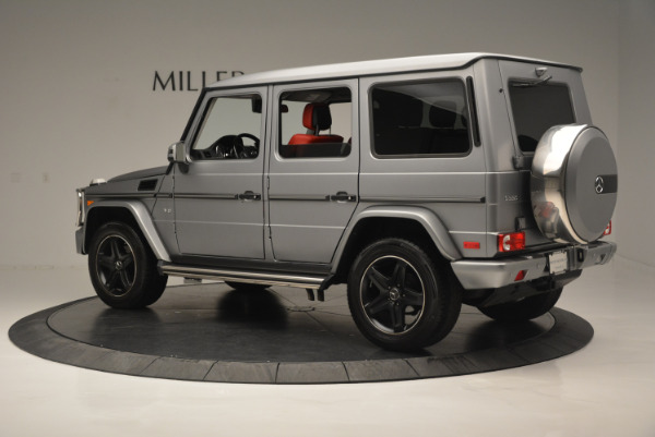 Used 2016 Mercedes-Benz G-Class G 550 for sale Sold at McLaren Greenwich in Greenwich CT 06830 4