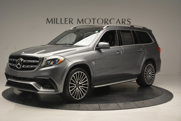 Used 2017 Mercedes-Benz GLS AMG GLS 63 for sale Sold at McLaren Greenwich in Greenwich CT 06830 2